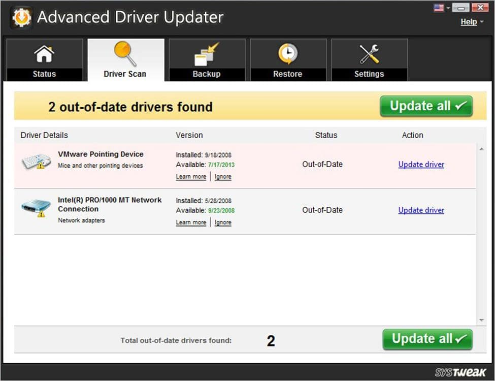 Advanced Driver Updater 4.8 Crack With Full License Key 2020