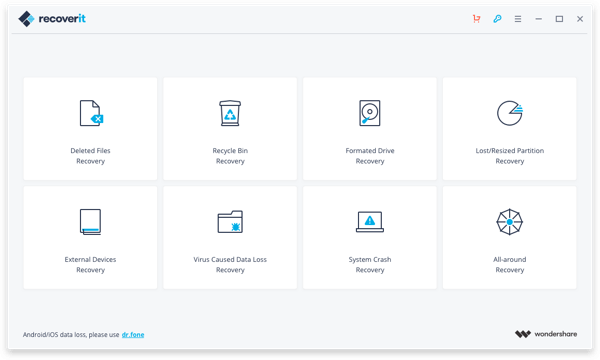 Wondershare Recoverit 9.0.10.11 Crack Latest Version 2021 Free Download