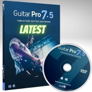 Guitar Pro Crack 7.5.5 + License Key Free Download