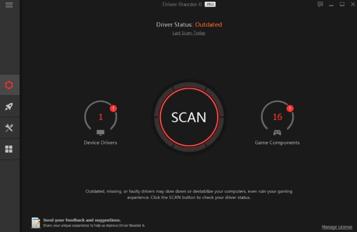 Driver Booster Pro Crack 9.0.0.85 + License Key Free 2021